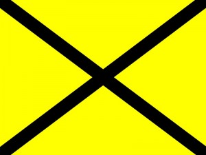 yellow-cross-flag